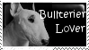 Bullterier lover - stamp by IcelectricSpyro