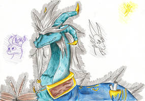 Chronicler's book of time by IcelectricSpyro