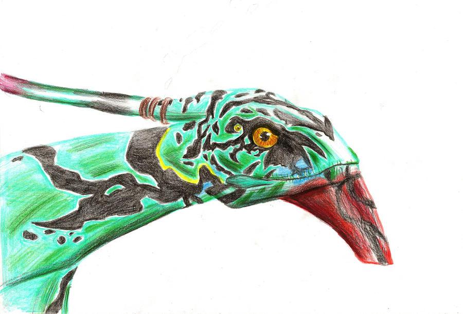 Avatar: Ikran by IcelectricSpyro
