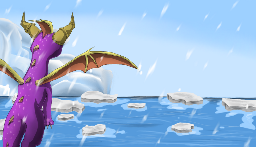 First flight - Dante's Freezer by IcelectricSpyro
