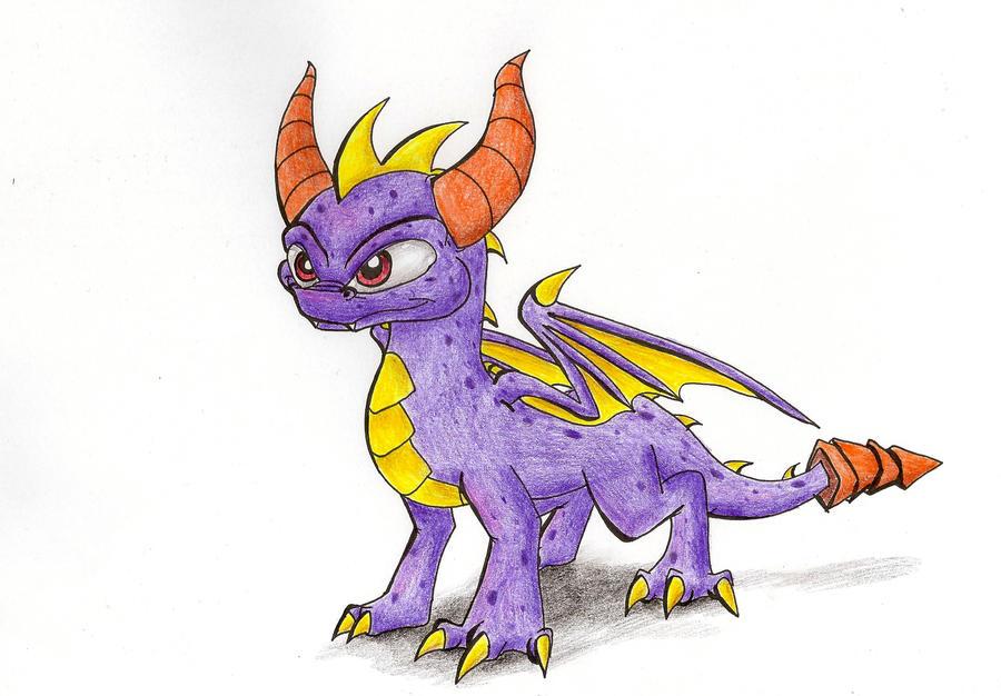 Skylanders - Spyro by IcelectricSpyro