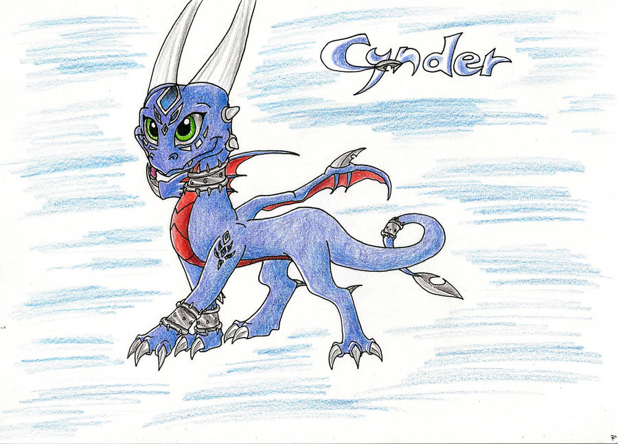 SKYLANDERS: Cynder by IcelectricSpyro