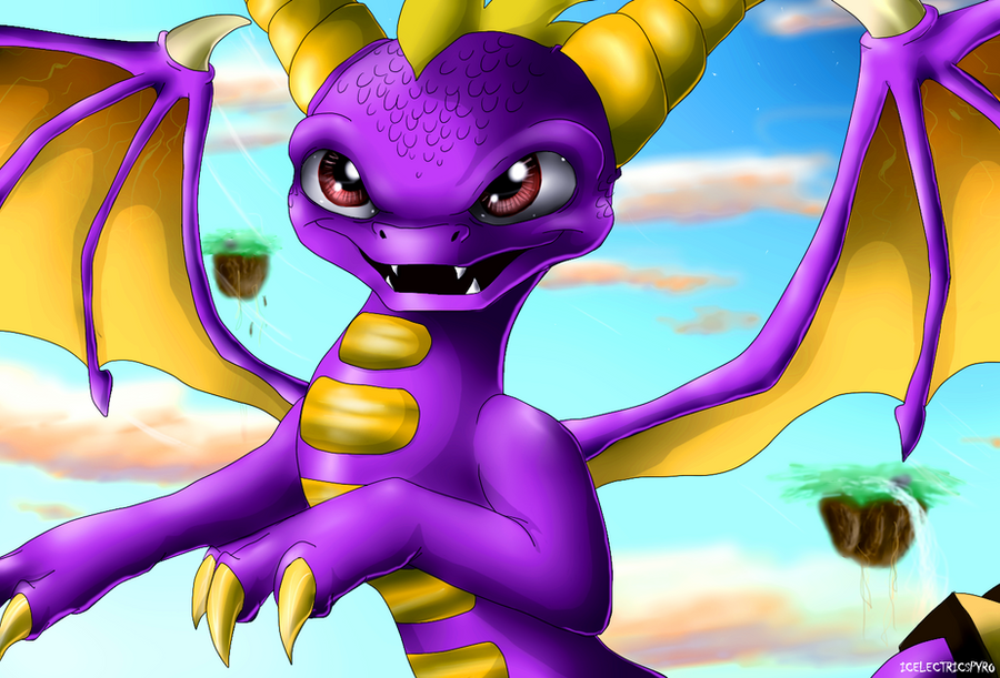 The bravest Skylander by IcelectricSpyro