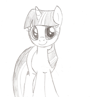 Twilight Sparkle - doodle by IcelectricSpyro