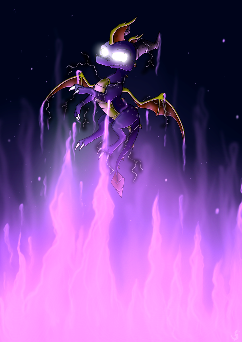 Conquer the Darkness by IcelectricSpyro