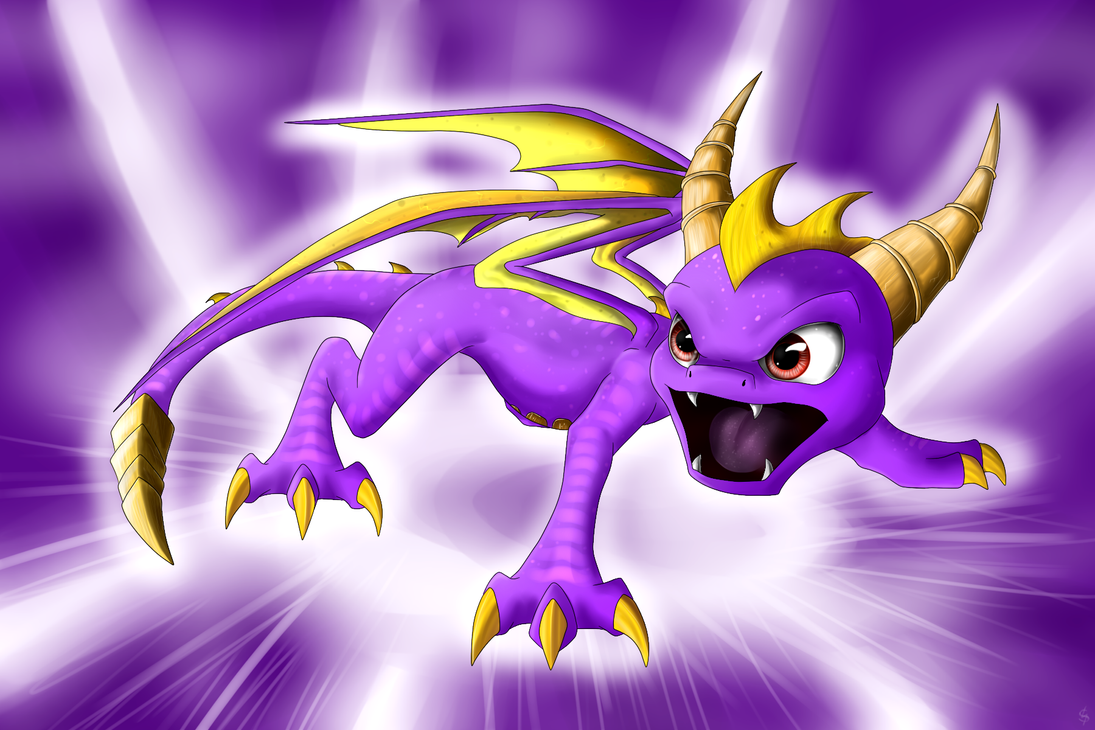 Skylanders Spyro - All Fired Up! by IcelectricSpyro