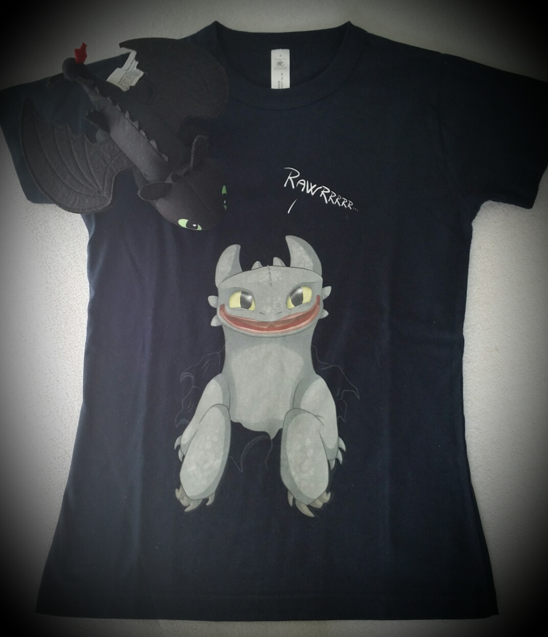 My Toothless t-shirt