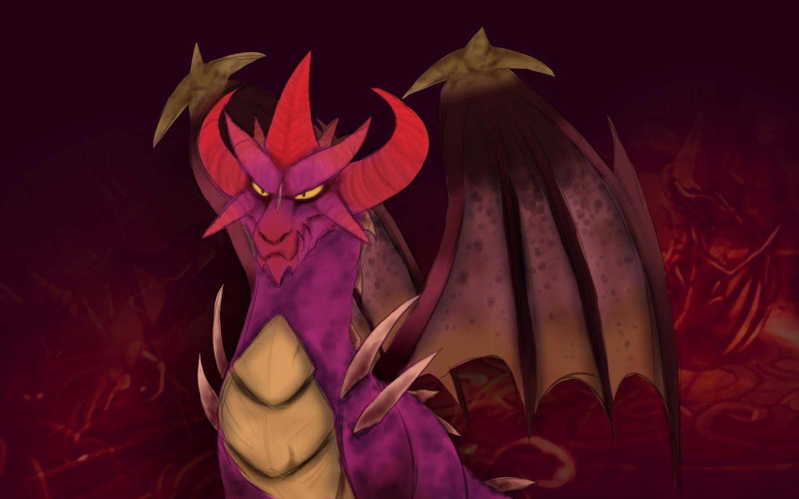 the legend of spyro flame by minerea on deviantart