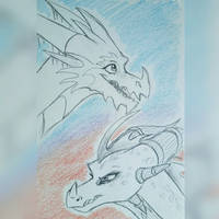 Ice And Fire by IcelectricSpyro