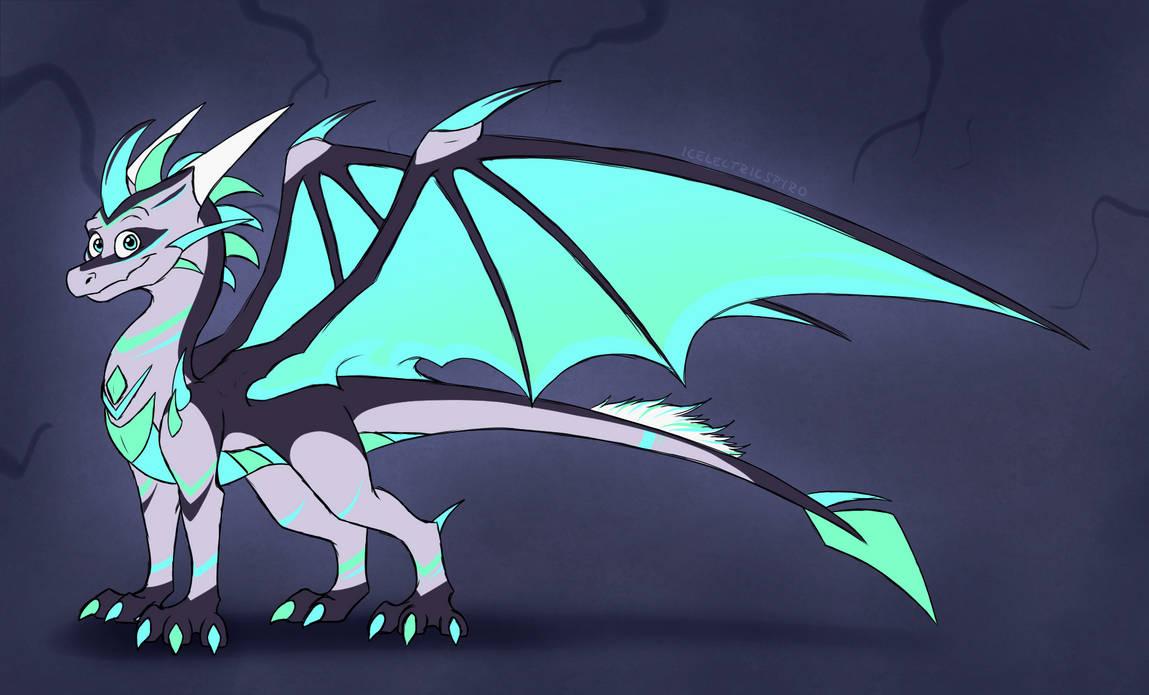 Dragon Egg Hatched - Wind Strike by IcelectricSpyro on