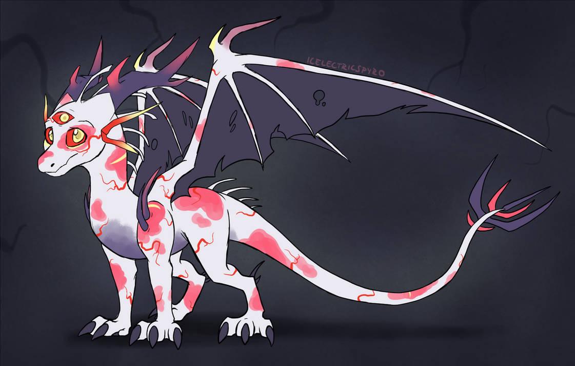 Dragon Egg Hatched - Undead Demon by IcelectricSpyro on DeviantArt