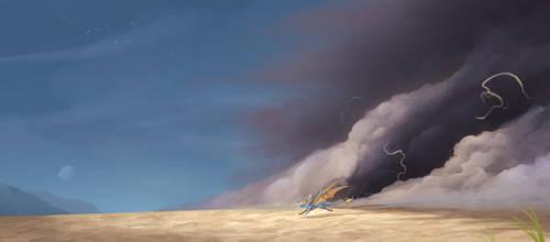 A Storm Follows by IcelectricSpyro