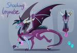 Dragon Adoptable AUCTION - Shocking Impulse (END)