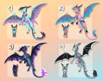 Dragon Adoptables - September set 1 - CLOSED