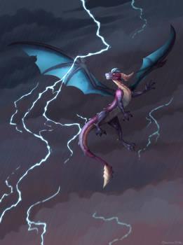 Chasing Thunder - commission