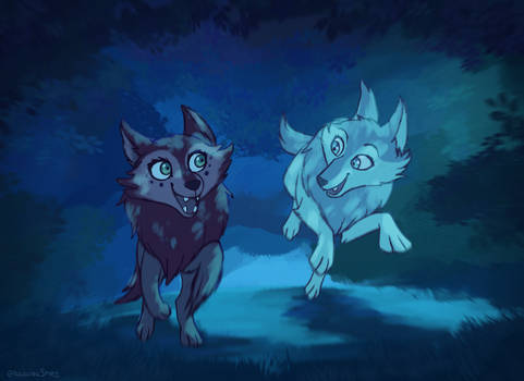 I'm running with the wolves tonight