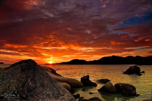 Sunset of PDL, Penang
