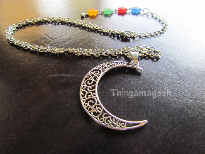 Serenity - Sailor Moon Inspired Necklace by thingamajik