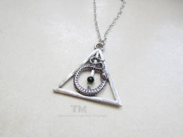 Deathly Hallows - Harry Potter Inspired by thingamajik