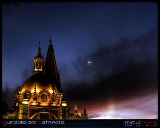 Guadalajara Cathedral II by mimictrash