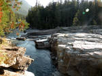 Avalanche Creek 3 stock