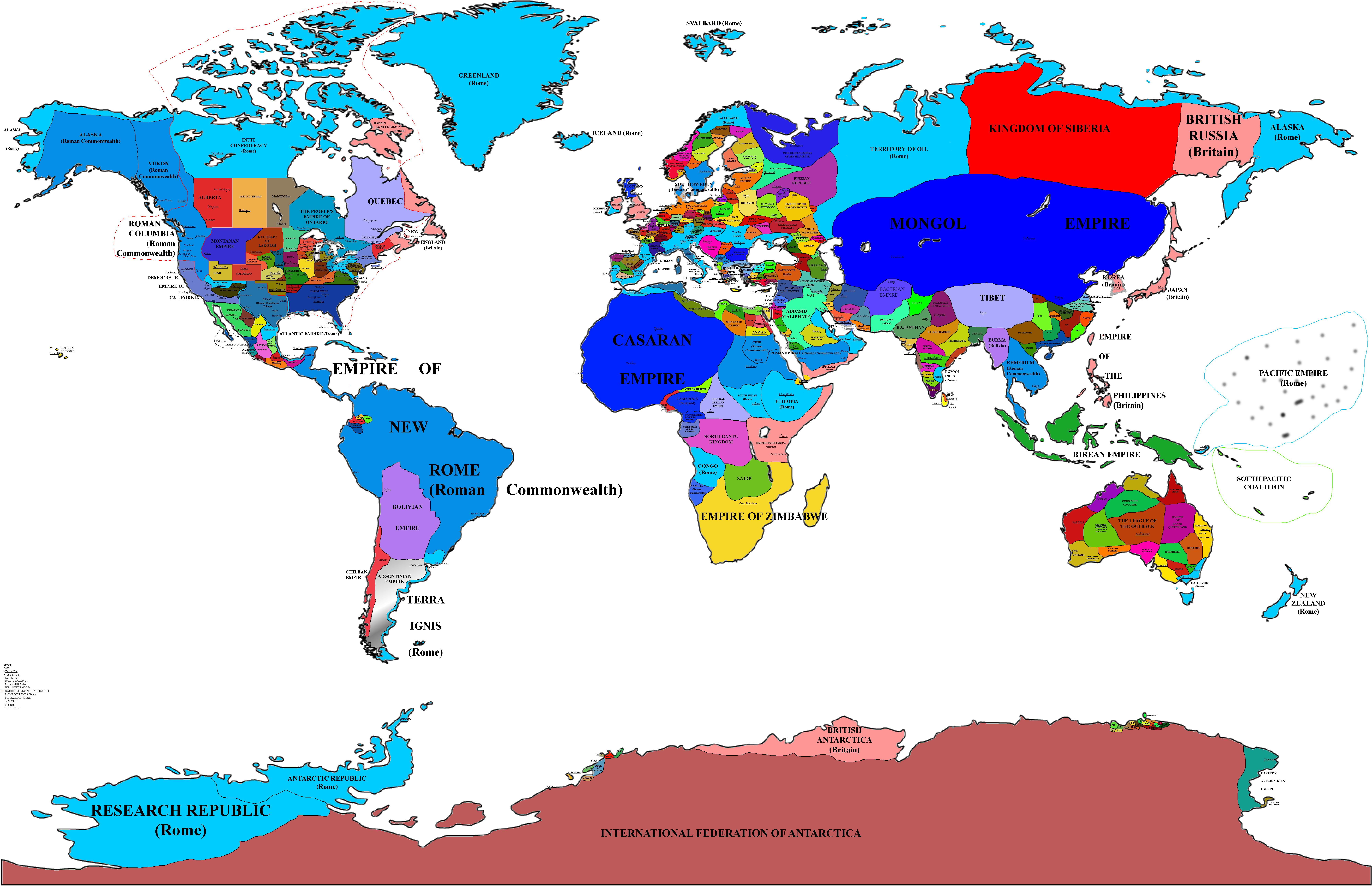 Vicendum World Map Updated 3 by Danielg342 on DeviantArt
