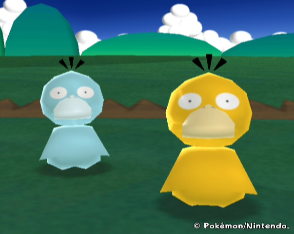 Shiny Psyduck by BulbasaurRanch