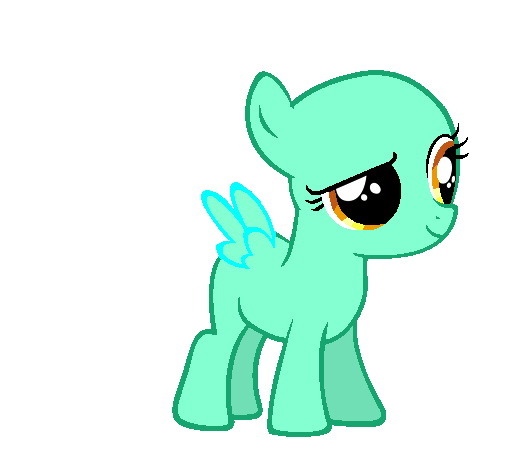 MLP base Mare and Filly Pegasus by LavenderSnow03 on