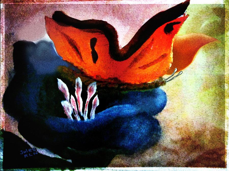 Julie's butterfly by nogggin
