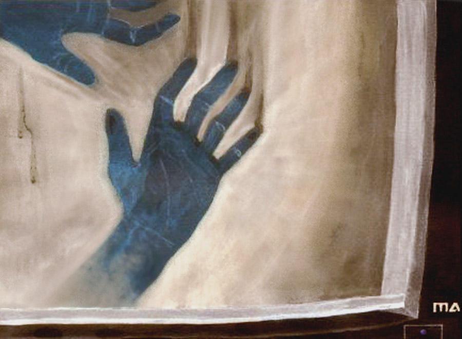 Hands by nogggin