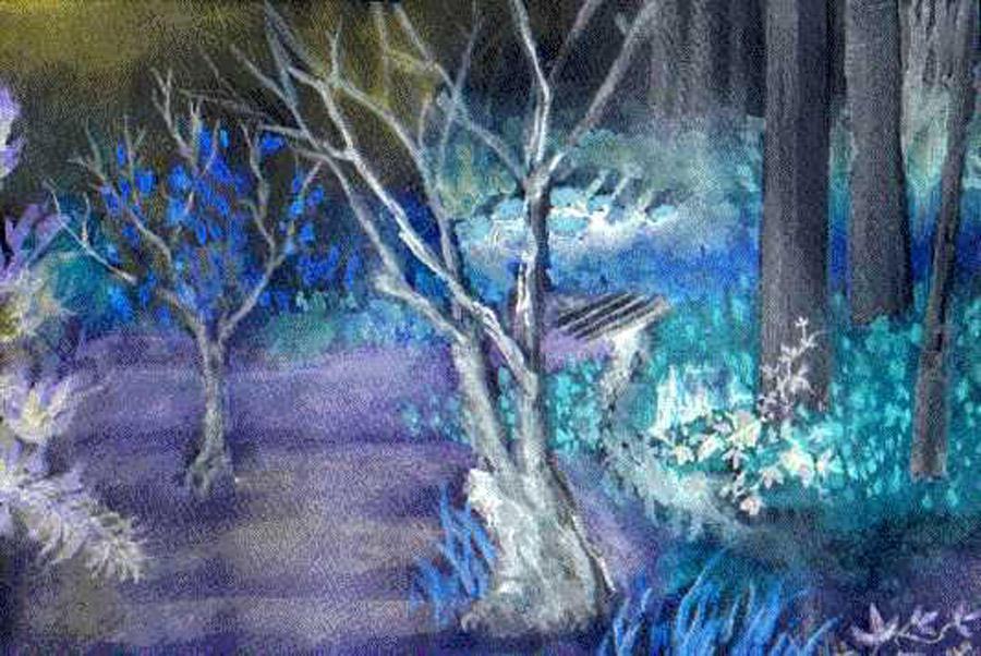 Backyard Blues by nogggin