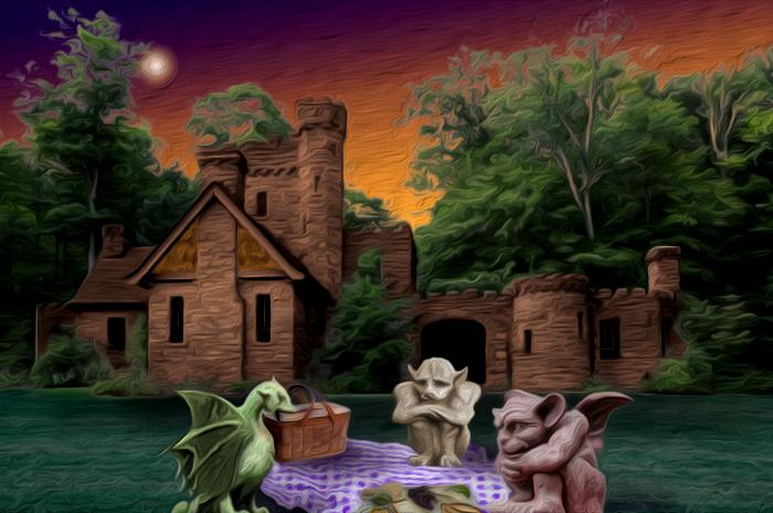 Castle-night by nogggin