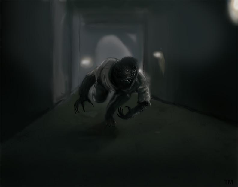 Running Wolfman By Tlmolly86 On Deviantart