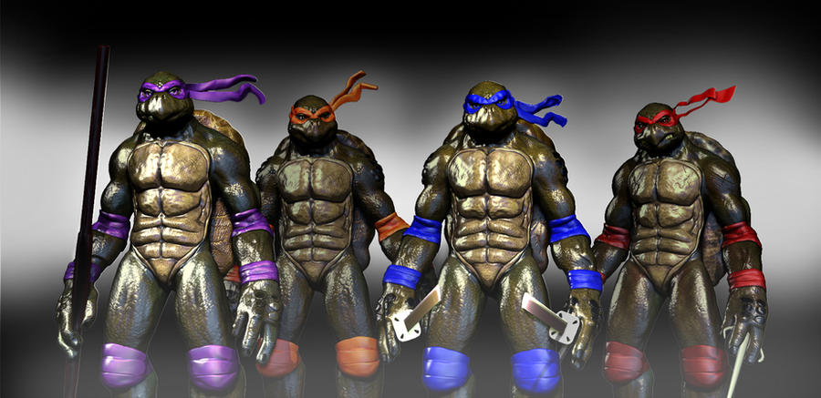 Teenage mutant ninja turtles by tlmolly86