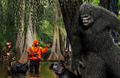 The Bigfoot Hunt by tlmolly86