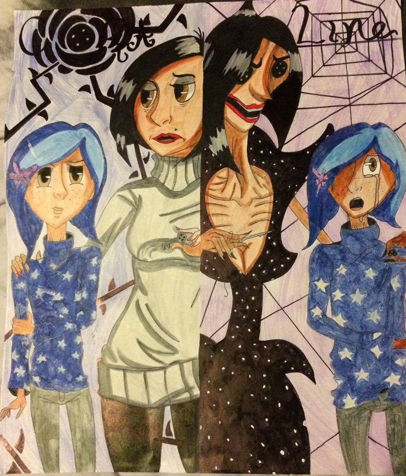 Coraline Movie Fanart Poster by Kuud3r3Kurayami on DeviantArt