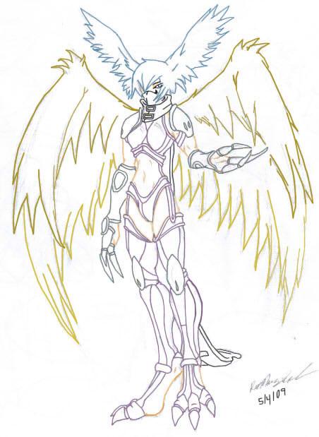 Zephyrmon FanArt by badass000000