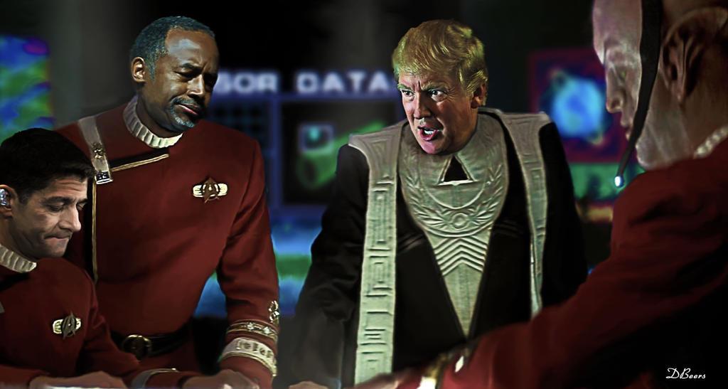 Donald J Trump Dr Ben Carson by DCJBeers