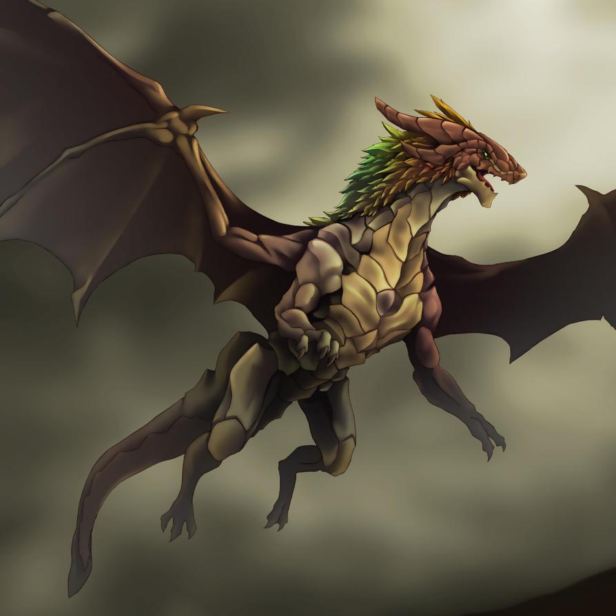 Neodragon (reto vs Dinokiller) (1) Ocher_dragon_by_neodragon55-d30ish3