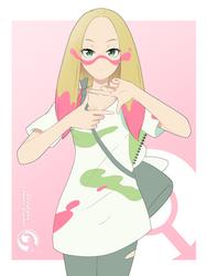Lineart_Pokemon Mina by Orcaleon