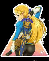 Zelda Master Sword by Orcaleon