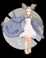 Jasmina Steelix _Pokemonster Girl 18 by Orcaleon