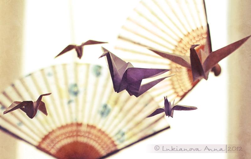 Origami Crane by Ursula-Gemma