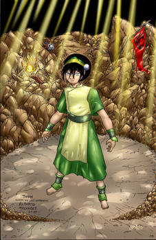 Toph Rocks in color