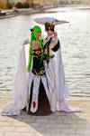 Code Geass Cosplay - Protect the Empress