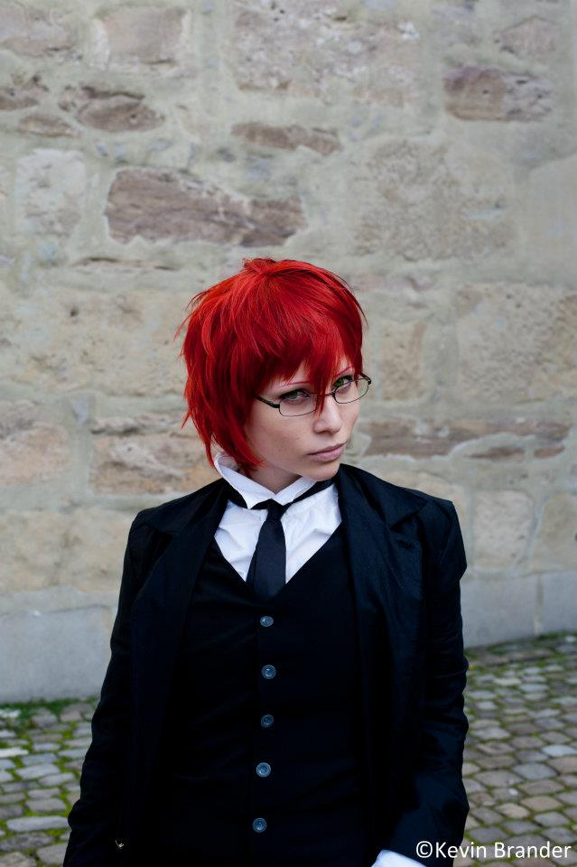 Grell Cosplay Young Reaper By Diriagoly On Deviantart