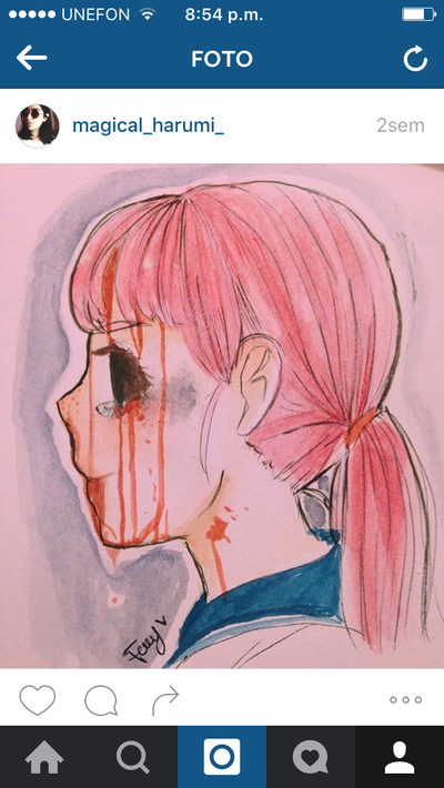 Cosa rara no estoy muerta  by MatyMelyFany