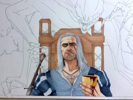 Geralt and Dettlaff wip2