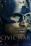 Marvel's Civil War Captain America Freedom Poster