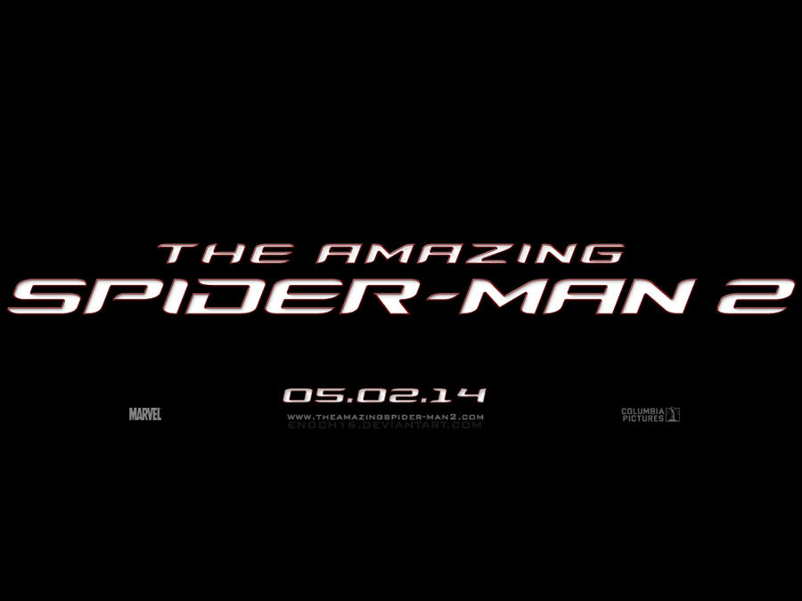 The Amazing Spider-Man 2 LOGO by Enoch16 on DeviantArt